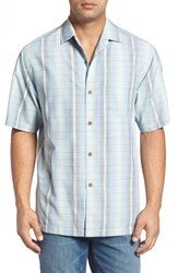 Tommy Bahama Men's Big And Tall Ombre Garcia Silk Blend Camp Shirt Rum Berry