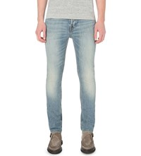 Allsaints Elswith Cigarette Slim Fit Skinny Jeans Light Indigo B