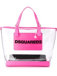 Dsquared2 'Mykonos' Shopping Tote White