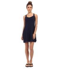 Columbia Baja Beauty Dress Collegiate Navy Foxglove Women's Dress Blue