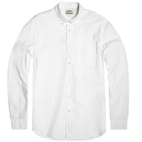 Acne Studios Isherwood Poplin Shirt White