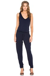 Feel The Piece Claudia Sleeveless Jumpsuit Navy