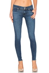 Hudson Jeans Collin Mid Rise Skinny Black