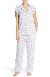 Eileen West Women's Print Cotton Pajamas