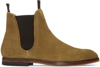 Hudson H By Tan Suede Tamper Chelsea Boots