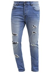 Only And Sons Onsloom Straight Leg Jeans Light Blue Denim
