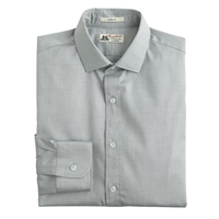 Slim Thomas Mason For J.Crew Shirt In Solid Highline Grey
