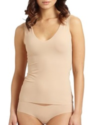 Commando Seamless Tank True Nude Black