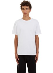 Katharine Hamnett X Ymc 'Don't Shoot' Crew Neck T Shirt White