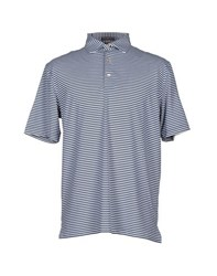Peter Millar Topwear Polo Shirts Men Blue