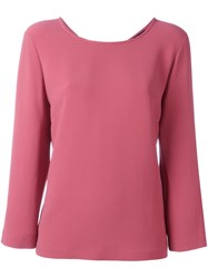 Odeeh Wide Fit Sweatshirt Pink And Purple