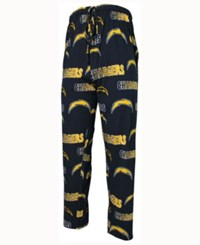 Concepts Sport Men's San Diego Chargers Sweep Sleep Pants Blue