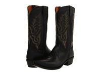 Lucchese M1007 Black Madras Goat Cowboy Boots