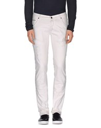 Messagerie Denim Denim Trousers Men White
