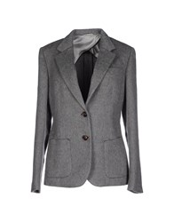 Kiton Suits And Jackets Blazers Women Grey