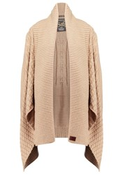 Superdry Haden Cardigan Caramel Off White