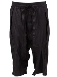 Isaac Sellam Experience Elasticated Shorts Black