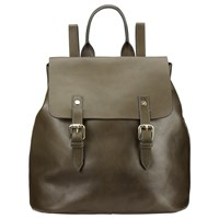 Alice By Temperley Somerset Hurst Leather Backpack Olive
