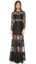 Alexis Joelle Gown Embroidered Lace