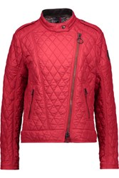 Belstaff Longston Quilted Shell Jacket Claret