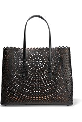 Alaia Vienne Laser Cut Leather Tote