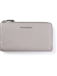 Givenchy Zip Fastening Purse Grey