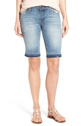 Women's Kut From The Kloth Stretch Denim Bermuda Shorts Serve