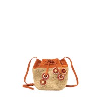 Vanessa Bruno Equateur Flower Bucket Bag