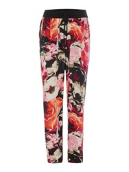 Episode Wide Leg Printed Trousers Multi Coloured Multi Coloured