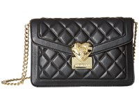 Love Moschino Quilted Envelope Crossbody Black Cross Body Handbags