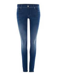 Salsa Colette Soft Touch Skinny Jeans Denim Mid Wash