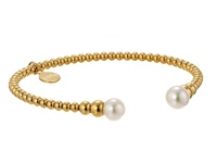 Majorica 8Mm Round Pearl Bangle Bracelet Gold White Bracelet Multi
