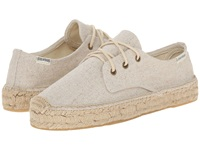 Soludos Platform Derby Lace Up Sand Women's Lace Up Casual Shoes Beige