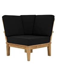 Lisa Teak Outdoor Patio Sofa By M Signature Collection At Gilt