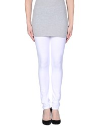 Blugirl Folies Trousers Leggings Women White