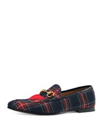 Gucci Tartan Horsebit Loafer Black