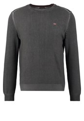 Napapijri Daho Jumper Dark Grey Solid Anthracite