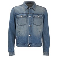 Blk Dnm Men's Loose Fitted Denim Jacket Tinton Blue