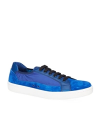 Car Shoe Suede And Nylon Tennis Sneaker