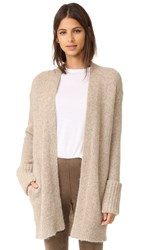 Theory Analiese B Cardigan Oatmeal