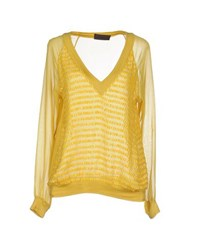 Jo No Fui Shirts Blouses Women Yellow