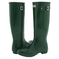 Hunter Original Green Men's Boots