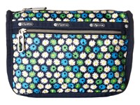 Le Sport Sac Everyday Cosmetic Case Travel Daisy Cosmetic Case Blue