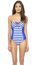 Ella Moss Cabana One Piece Swimsuit Blue