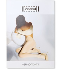Wolford Merino Wool Tights Anthracite