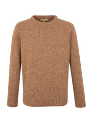 Gibson Crew Neck Donegal Fleck Beige