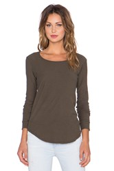 Citizens Of Humanity Ellie Long Sleeve T Shirt Green