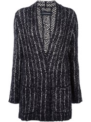By Malene Birger Patch Pocket Cardigan Black