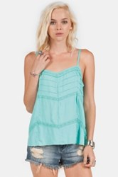 Volcom 'Straight Laced' Camisole Juniors Blue