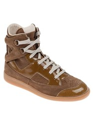 Maison Martin Margiela Lace Up Sneaker Brown